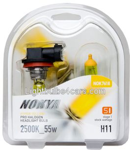 Nokya H11 55W Hyper Yellow