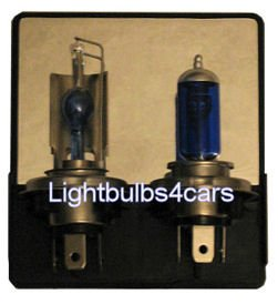 hir h4/9003 xenon bulbs