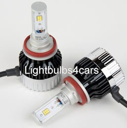 H11 6000K LED head light bulbs